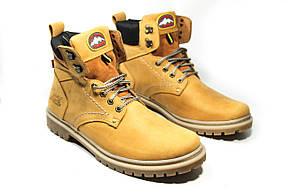Зимние ботинки (на меху) мужские Switzerlend 13032 (реплика)