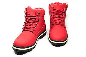 Зимние ботинки (на меху)  женские Timberland 11-061 (реплика)