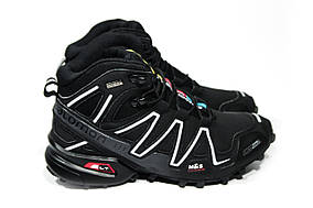 Зимние ботинки  (на меху)  мужские Salomon Speedcross 3 (реплика) 6-032