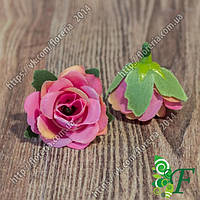 Головка роз МИНИ малиновый