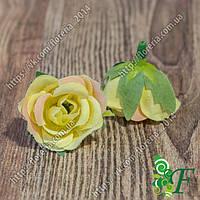 Головка роз МИНИ желтый