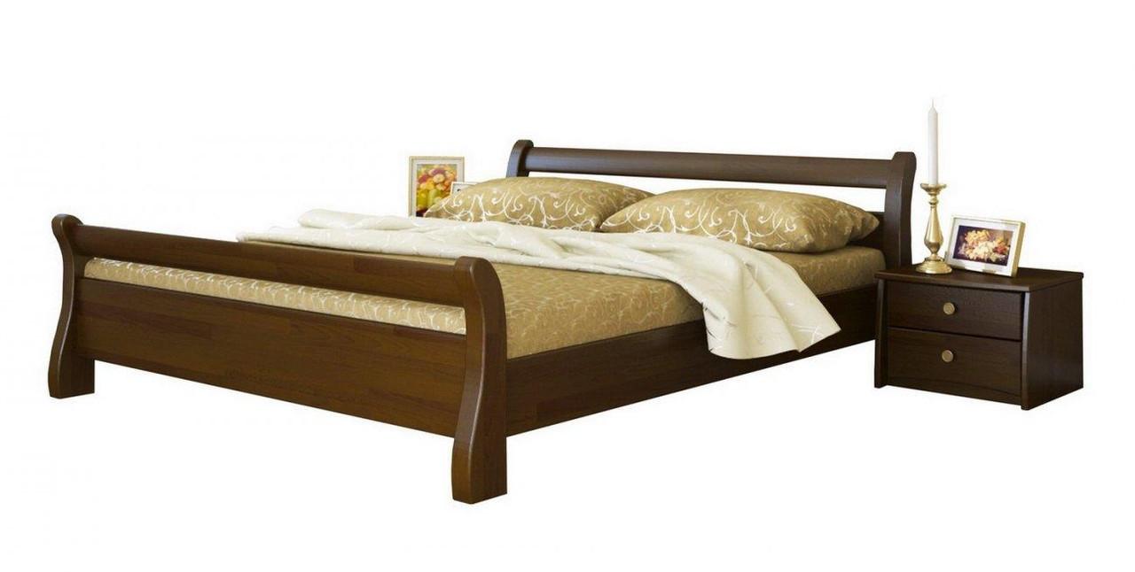Ліжко Діана 140х190 Бук Щит 101 (Естелла-ТМ)