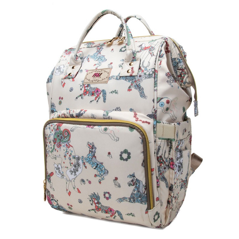 Женский рюкзак-сумка для мам Mayin из водоотталкивающей ткани, 20л