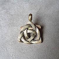 """Кулон """"Кельтский узел"""" из бронзы"""