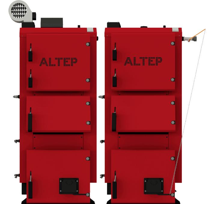 Котел твердотопливный Альтеп DUO PLUS 62 кВт