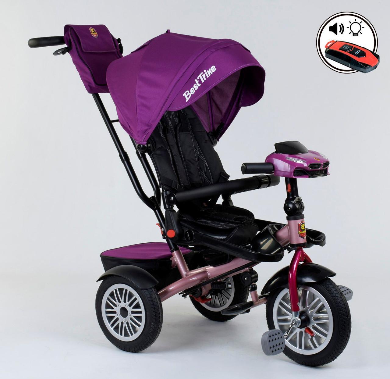 Велосипед 3-х колёсный 9288 В - 3920 Best Trike (1) ПОВОРОТНОЕ СИДЕНЬЕ, СКЛАДНОЙ РУЛЬ, ПУЛЬТ 76986
