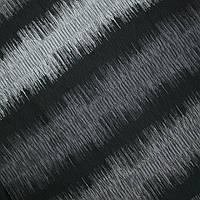 Декор полоса зигзаг черный/серый