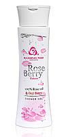 Душ-гель с маслом розы и экстрактом ягод годжи Rose Berry Nature 200 мл