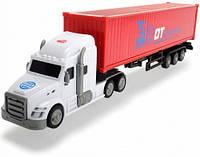 Грузовик для перевозки контейнеров (42 см), Dickie Toys, бел (374 7001-1)
