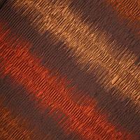 Декор полоса зигзаг т.золото/оранж/коричневый