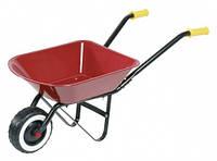 Игровая садовая одноколёсная тележка, красная, Goki (14059G)