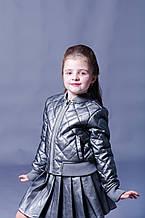 Детская куртка для девочки Верхняя одежда для девочек TIFFOSI Португалия 10019602 Серый