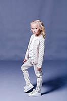 Детская куртка для девочки Верхняя одежда для девочек SILVIAN HEACH Италия EDBI6042GB Молочный