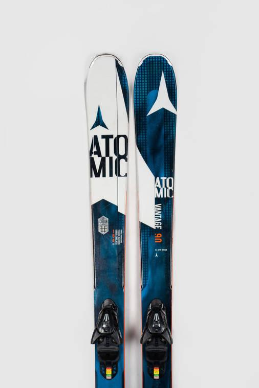 Гірські лижі Atomic Vantage 90 184 Blue Б/У, фото 2