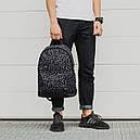Рюкзак черный модель Bone, фото 2
