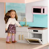 Современная кухня, мебель для кукол, Lori (LO37043Z)