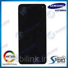 Дисплей на Samsung G970 Galaxy S10e Белый(White),GH82-18852B, Super AMOLED!
