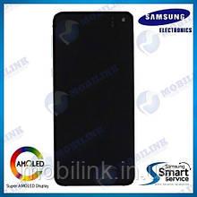 Дисплей на Samsung G970 Galaxy S10e Чёрный(Black),GH82-18852A, Super AMOLED!