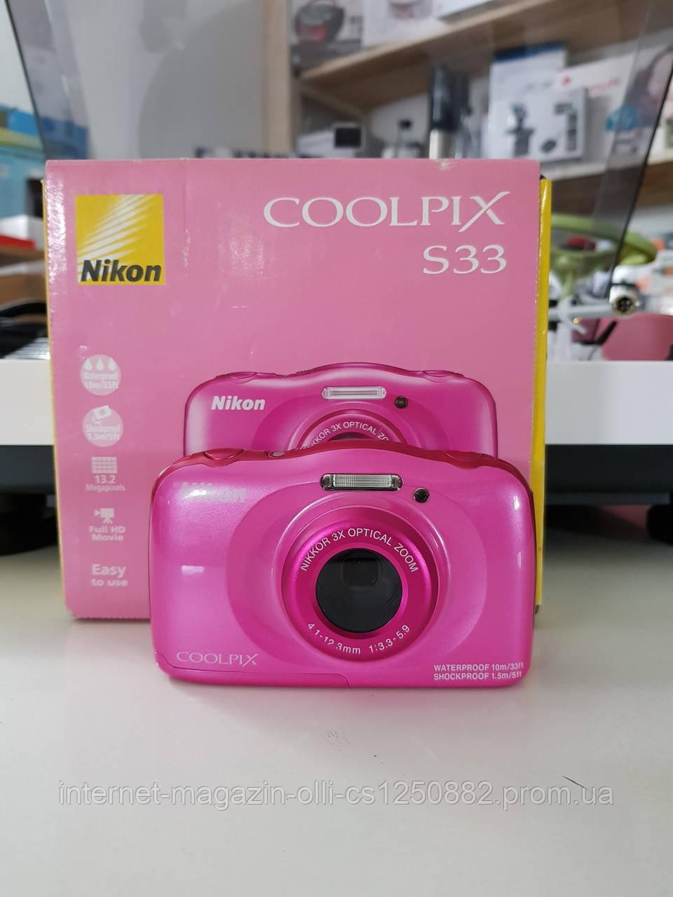 Фотоаппарат Nikon Coolpix S33
