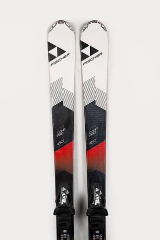 Гірські лижі Fischer XTR Comp Pro 160 Black-White-Red Б/У, фото 2