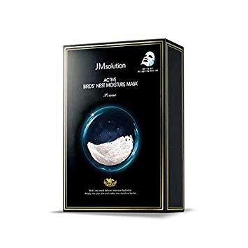 Тканевая маска с ласточкиным гнездом JMsolution – Active Birds' Nest Moisture Mask