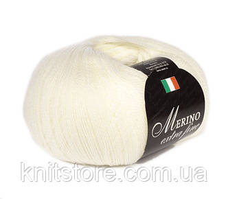 Пряжа Сеам Merino Extra Fine Белый