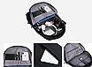 Рюкзак городской для ноутбука Sport xilie Серый, фото 4