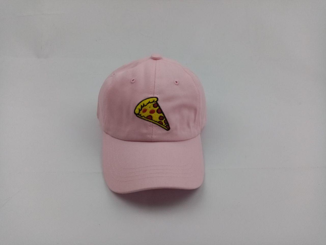 Кепка бейсболка Пицца Pizza (розовая)