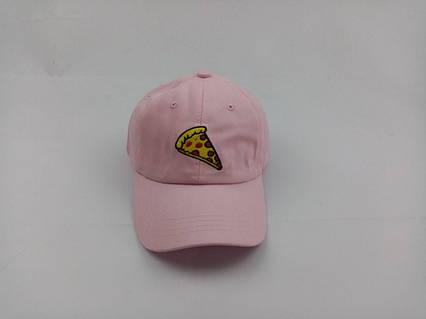 Кепка бейсболка Пицца Pizza (розовая), фото 2