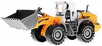 Детская инерционная машинка Трактор с ковшом Power Truck
