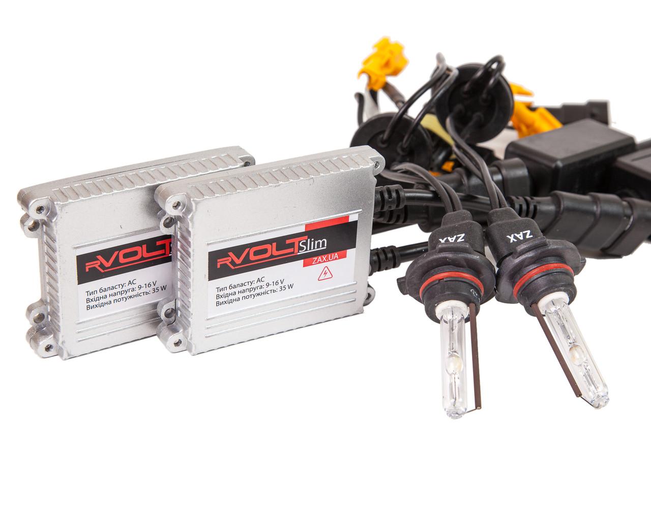 Комплект ксенона rVolt slim 35W 9-16V Zax ceramic HB3 (9005) 6000K