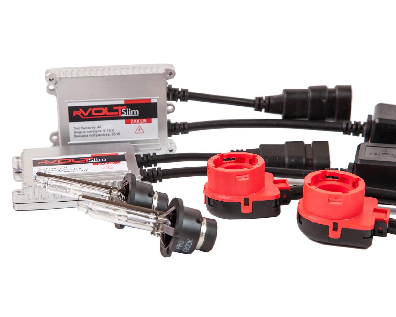 Комплект ксенона rVolt slim 35W 9-16V D2S Pro 6000K