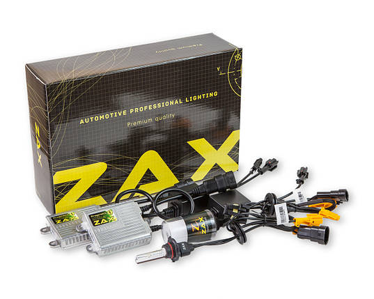 Комплект ксенона ZAX Pragmatic 35W 9-16V HB3 (9005) Ceramic 5000K, фото 2