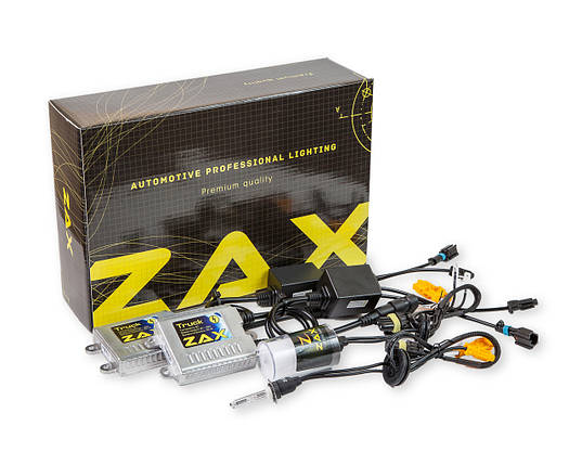 Комплект ксенона ZAX Truck 35W 9-32V H3 Ceramic 5000K, фото 2