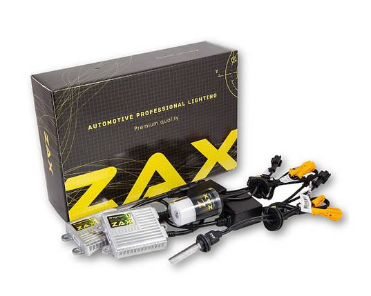 Комплект ксенона ZAX Pragmatic 35W 9-16V H27 (880/881) Ceramic 4300K, фото 2