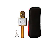 Микрофон-караоке MicGeek Золотистый (2288)
