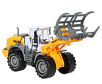 Детская инерционная машинка Трактор со щипцами Power Truck