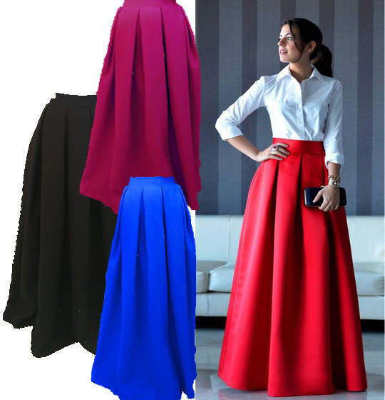 Длинная юбка в пол  макси 4969