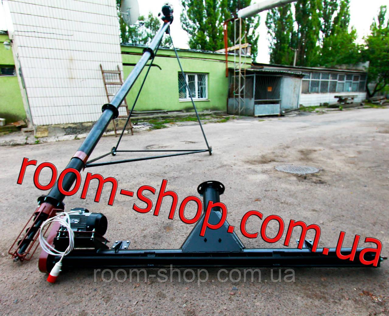 Шнековый погрузчик (транспортер) с подборщиком (підберачем) диаметр 110 мм на 2 метра