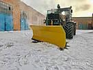 Усиленная лопата  снегоуборочная к трактору Т 150, ХТЗ, фото 9