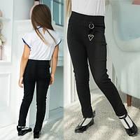 Школьные брюки, штаны на девочку  (на 6, 7,8, 9,10,11 лет), фото 1