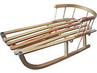 Санки деревянные WOOD, фото 1
