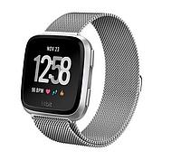 Миланский сетчатый ремешок для часов Fitbit Versa - Silver