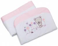 Бампер для кроватки Evolution A-017, розовый, Twins (2000.22.68.08)
