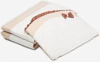 Бампер для кроватки Premium Starlet Р-023, бежево-коричневый, Twins (2000.28.73.07)