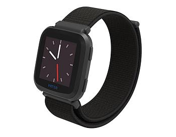 Нейлоновый ремешок Primolux для часов Fitbit Versa / Versa 2 / Versa Lite - Black