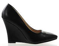 Чрезвычайно стильные Удобные и модные женские туфли на платформе черного цвета! размеры 36,38/
