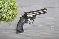 Газовая зажигалка Револьвер в кобуре, фото 1
