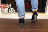 Туфли женские замшевые на каблуке код Т285, фото 5