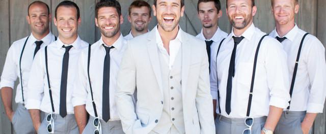 Фото костюмы свидетелей на свадьбе